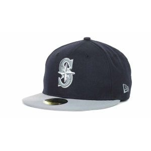 Seattle Mariners New Era MLB 2T Custom 59FIFTY Cap