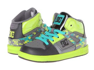 DC Kids Rebound SE UL Boys Shoes (Green)