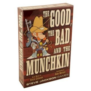 MUNCHKIN The Good, The Bad and The Munchkin Steve Jackson Game
