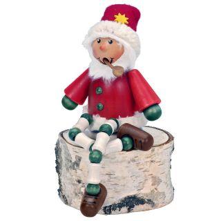 Alexander Taron Importer Christian Ulbricht Sitting Santa Smoker Multicolor