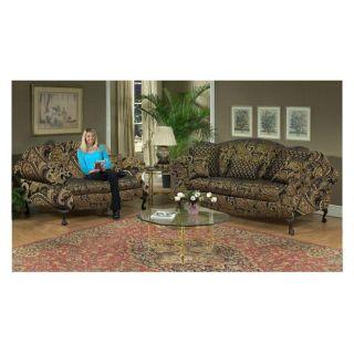 Chelsea Home Queen Elizabeth Living Room Set   Storm Multicolor   CHEL446