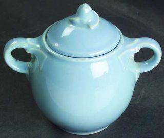 Taylor, Smith & T (TS&T) Luray Pastels Blue Mini Sugar Bowl & Lid, Fine China Di