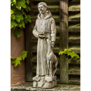 Campania International Small St. Francis with Animals Garden Statue   R 112 AL