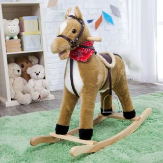 Charm Blonde Rocking Horse with Movement and Sounds Multicolor   82341