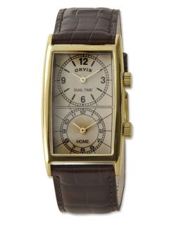 Transworld Dual time Watch, Natural