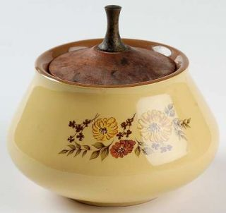 Taylor, Smith & T (TS&T) Indian Summer Sugar Bowl & Lid, Fine China Dinnerware