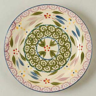 Temp Tations Old World Confetti Salad Plate, Fine China Dinnerware   Multicolor