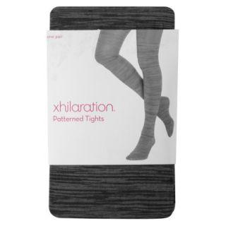 Xhilaration Juniors Fashion Layering Tights   Black Spacedye L
