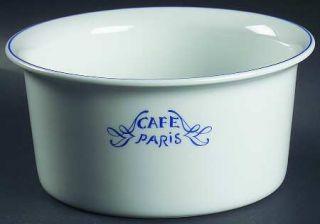 Bernardaud Cafe Paris Blue Souffle, Fine China Dinnerware   Residence,Blue Decor