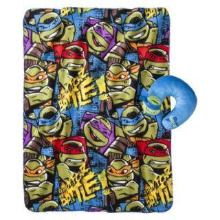 Teenage Mutant Ninja Turtles Travel Pillow and Throw Set