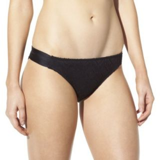 Mossimo Womens Crochet Mix and Match Hipster Swim Bottom  Black L