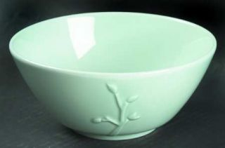 Dansk Wild Willow Celadon Fruit/Cereal Bowl, Fine China Dinnerware   All Celadon