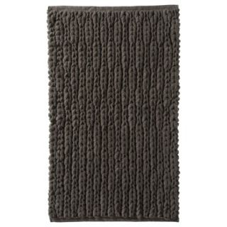 Threshold Natural Texture Bath Rug   River Birch (20x34)