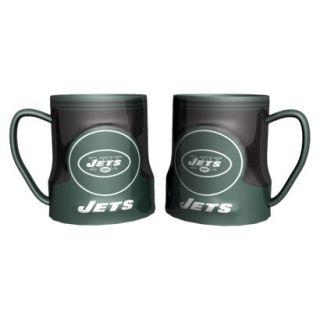 Boelter Brands NFL 2 Pack New York Jets Game Time Mug   20 oz