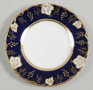 Royal Crown Derby Vine Cobalt Blue Bread & Butter Plate, Fine China Dinnerware
