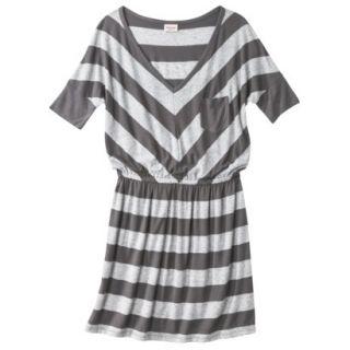 Mossimo Supply Co. Juniors V Neck Dress   Flat Gray M(7 9)