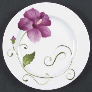 Westbury Court Lyrical Blooms Salad Plate, Fine China Dinnerware   Different Flo