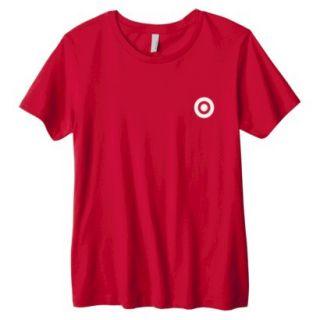 Misses Red Crew Neck T shirt   M