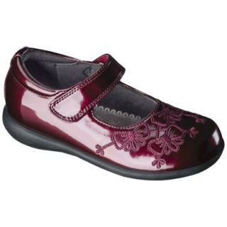 Toddler Girls Rachel Shoes Shana Patent Mary Jane   Red 8