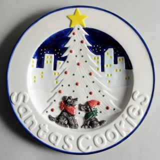 Noritake Twas The Night Before Christmas # 8100 Cookie Plate, Fine China Dinnerw