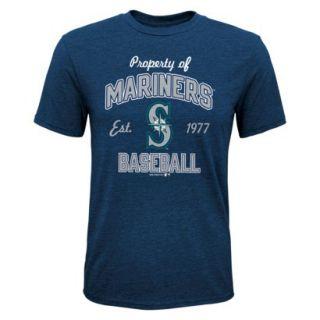 MLB TEAM COLOR MLB Boys T Shirt MARINERS   XL