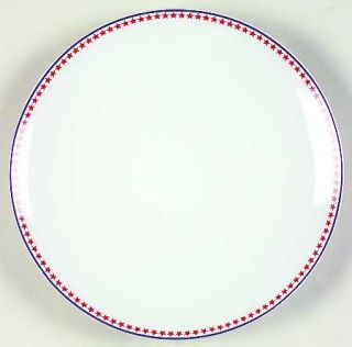 Alfred & Sapota Blue Star Salad/Dessert Plate, Fine China Dinnerware   Blue Star
