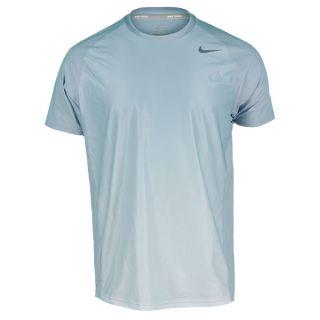 Nike Men`s Advantage UV Graphic Tennis Crew Xxlarge 403_Lt_Armory_Blue