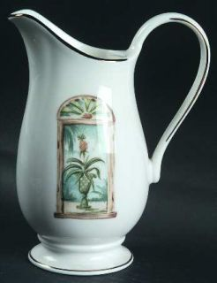 Lenox China British Colonial Scenic (Accessories) Creamer, Fine China Dinnerware