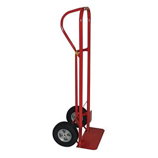 Milwaukee P Handle Hand Truck With Puncture Proof Tires   1000 Lb. Capacity
