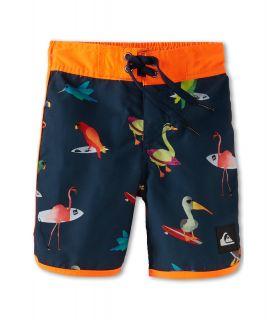 Quiksilver Kids Pollybird Boardshort Boys Swimwear (Navy)
