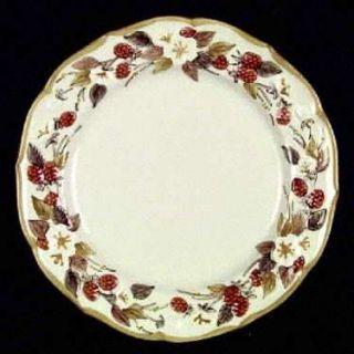 Metlox   Poppytrail   Vernon Autumn Berry Dinner Plate, Fine China Dinnerware
