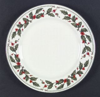 ... The Cellar Ivory Holly (China) Dinner Plate Fine China Dinnerware China St& ...  sc 1 st  PopScreen & The Cellar Ivory Holly (Japan) Sugar Bowl u0026 Lid Fine China ...