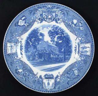 Wedgwood United States Military Academy Blue Dinner Plate, Fine China Dinnerware