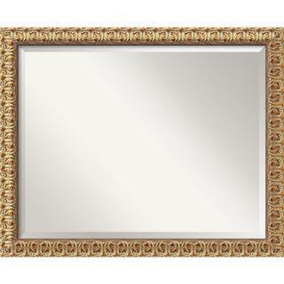 Large Florentine Gold Wall Mirror