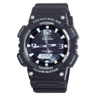 Casio Mens Solar Sport Watch   Black   AQS810W 1AVCF