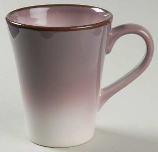 Cindy Crawford Style Ombre Purple Mug, Fine China Dinnerware   Purple/White,Coup