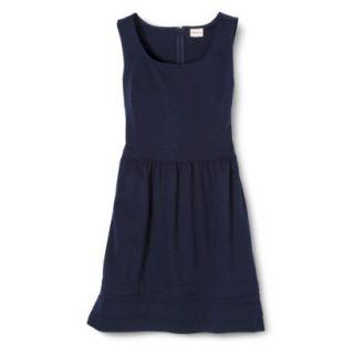 Merona Womens Ponte Dress   Xavier Navy   M