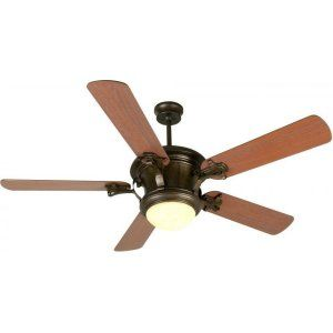 Craftmade CRA K10796 Amphora 52 Ceiling Fan with Plus Series Washed Walnut Birc