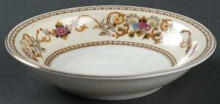 Royal Embassy Wheeling (Japan) Rim Fruit/Dessert (Sauce) Bowl, Fine China Dinner