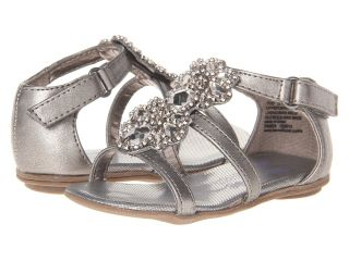 Kenneth Cole Reaction Kids Good Bright 2 Girls Shoes (Pewter)