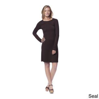 A To Z Womens Crew Neck Slip Dress