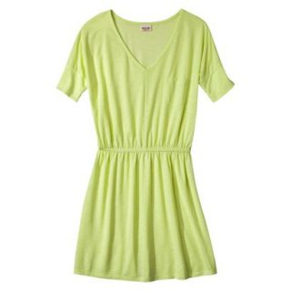 Mossimo Supply Co. Juniors V Neck Dress   Limesand XL(15 17)