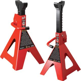 Torin Pair of Ratchet Action Jack Stands   12 Ton, Model# T41202