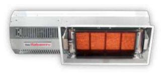 Berner 33 Patio Heater   15,000 20,000 BTU, 304 Stainless, Natural Gas