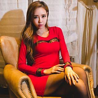 Jinbier Sexy Red Dress