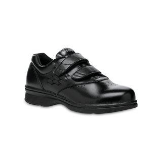 Propet Vista Adjustable Straps Walking Shoes, Black, Womens