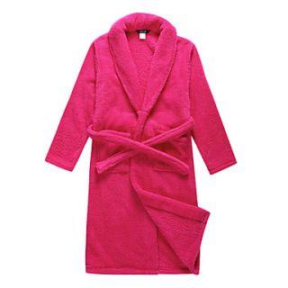 Bath Robe, Velour Rose Solid Colour Garment   2 Size Available