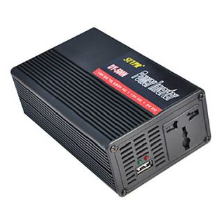 Power Inverter with USB Cigarette Lighter Socket 500W DC 12V to AC 220V Modified Sine Wave