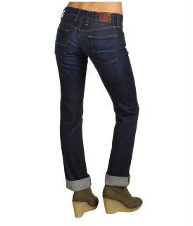 Lucky Brand Sienna Straight in Ol Stevens Womens Jeans (Black)