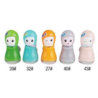Cute Doll Shaped Nail Polish No.2 (Assorted Colors)